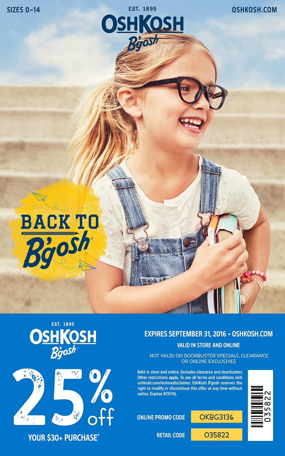 OshKosh B'gosh-spring break-packing tips, kids fashion- OshKosh- kids style