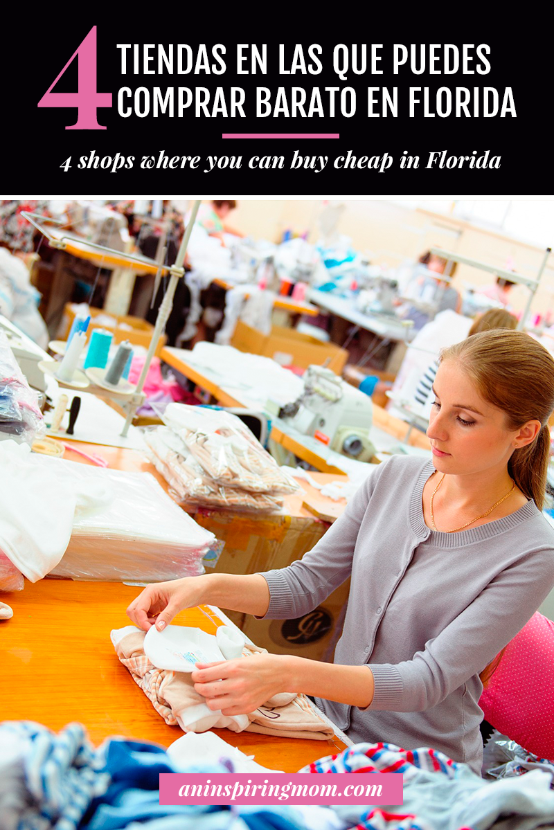 4 tiendas en las que puedes comprar barato en Florida