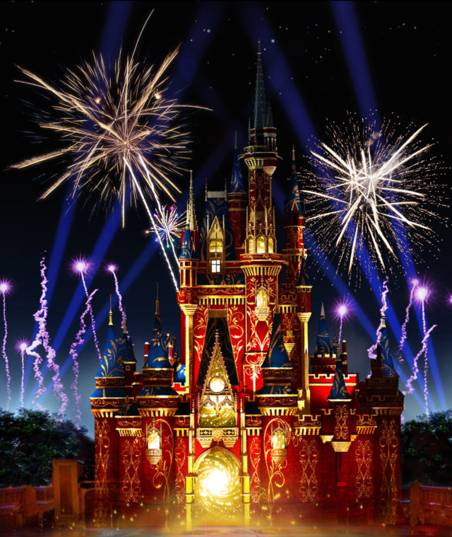 Happily Ever After ever Magic Kingdom Park